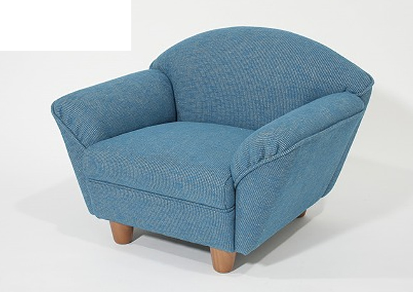 【 キッズソファー 】 子供用椅子リフェSA(布・柄タイプ) 【ワークス】