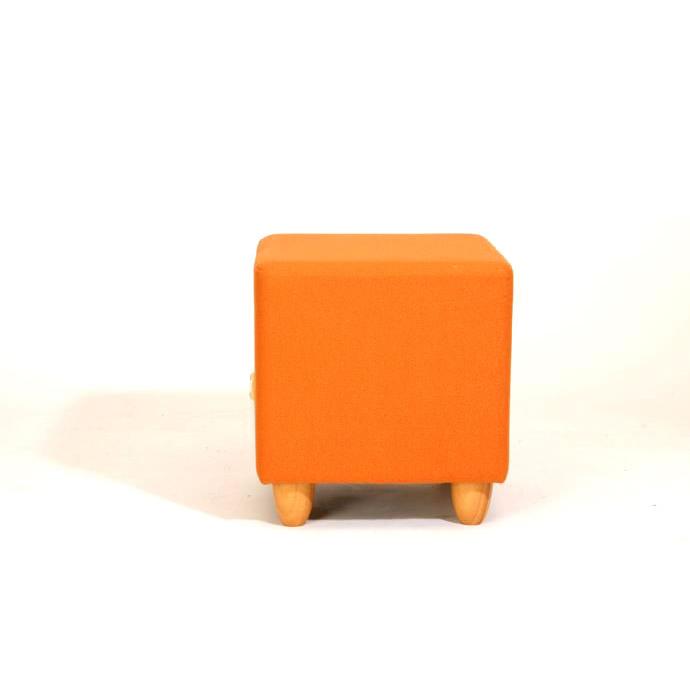 脚付 スツール KS-4HN(レザータイプ)/玄関 日本製 ボックス クラブチェア 合成皮革 合皮レザー 一人掛け 北欧 シンプル ナチュラル 激安
