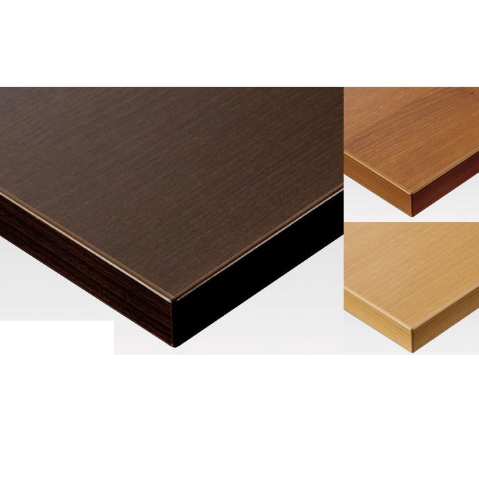 【 テーブル天板のみ 】テーブル天板 メラミン化粧板 共巻き仕上げ 木目 T-0011(3柄限定) W1200×D600×t30 【 テーブル天板 パーツ 机 DIY 】