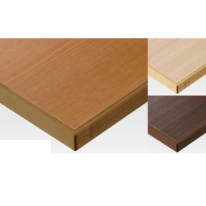 【 テーブル天板のみ 】テーブル天板 メラミン化粧板 木ブチ付木目柄 T-0013 W1200×D600×t40 【 テーブル天板 パーツ 机 DIY 】