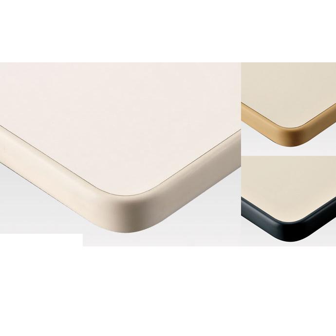 【 テーブル天板のみ 】テーブル天板 メラミン化粧板 ソフトエッジ巻 単色 T-0023 W1200×D600×t30 【 テーブル天板 パーツ 机 DIY 】
