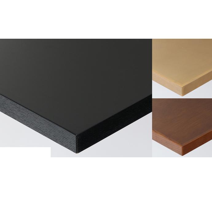 【 テーブル天板のみ 】テーブル天板 天然木 ラワン突板 木ブチ付き T-0039 W600×D600×t30 【 テーブル天板 パーツ 机 DIY 】
