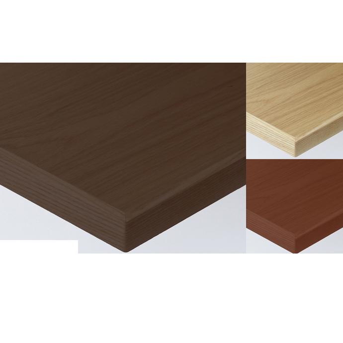 【 テーブル天板のみ 】テーブル天板 天然木 ナラ板目突板 木ブチ付 T-0045 W600×D600×t30 【 テーブル天板 パーツ 机 DIY 】