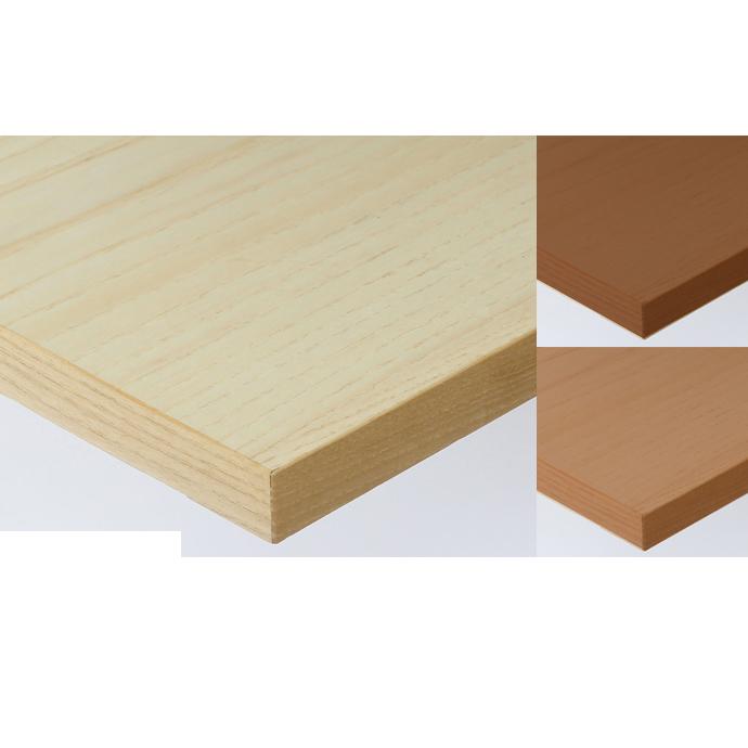 【 テーブル天板のみ 】テーブル天板 天然木 ホワイトアッシュ突板 共巻き仕上げ T-0059 W600×D600×t30 【 テーブル天板 パーツ 机 DIY 】