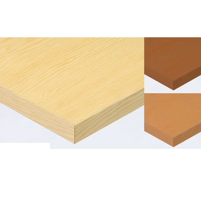 【 テーブル天板のみ 】テーブル天板 天然木 米松突板 共巻き仕上げ T-0061 W1200×D600×t40 【 テーブル天板 パーツ 机 DIY 】