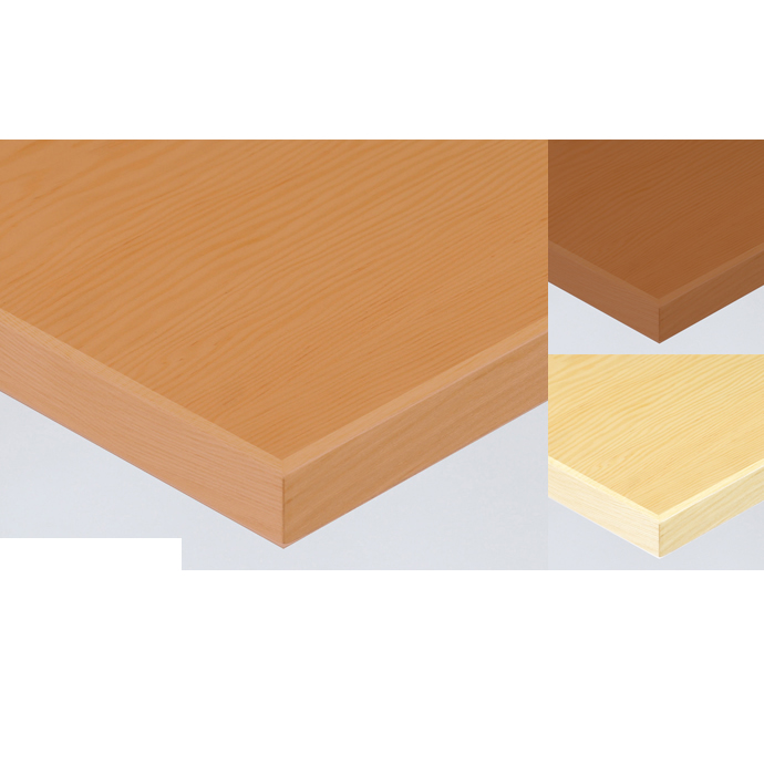 【 テーブル天板のみ 】テーブル天板 天然木 米松突板 木ブチ付き T-0062 W1200×D600×t30 【 テーブル天板 パーツ 机 DIY 】