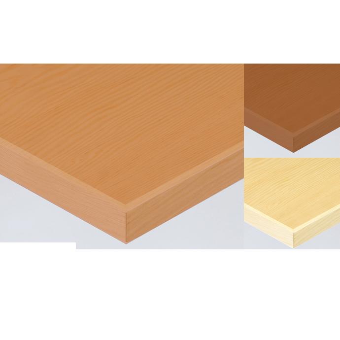 【 テーブル天板のみ 】テーブル天板 天然木 米松突板 木ブチ付き T-0062 W600×D600×t30 【 テーブル天板 パーツ 机 DIY 】