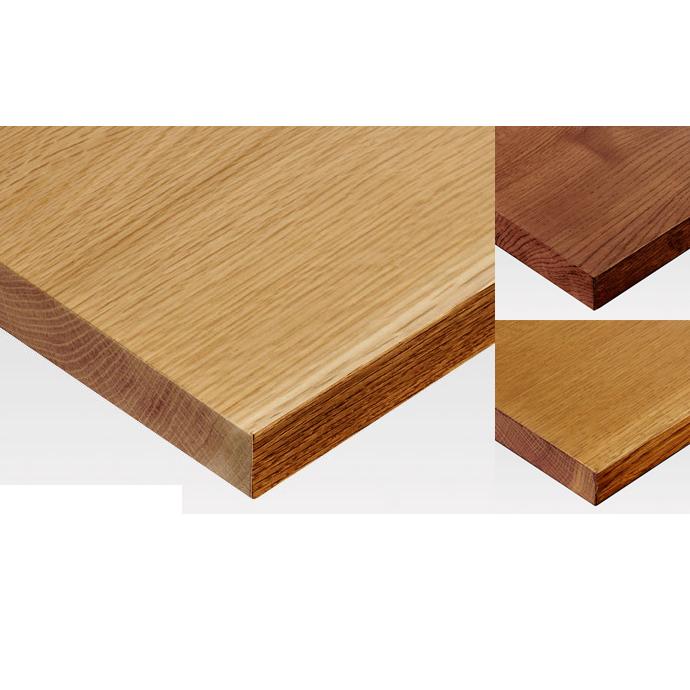 【 テーブル天板のみ 】テーブル天板 無垢天然木 ナラ 5枚剥ぎ(節、割れ、白太あり) T-0071 W1200×D600×t28(~t30) 【 テーブル天板 パーツ 机 DIY 】