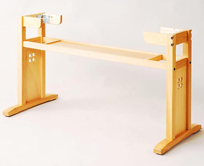 【 テーブル 脚 パーツ 木製 】 テーブル脚(木製脚) M1-NQ (NA ナチュラルクリアー) 【ワークス】