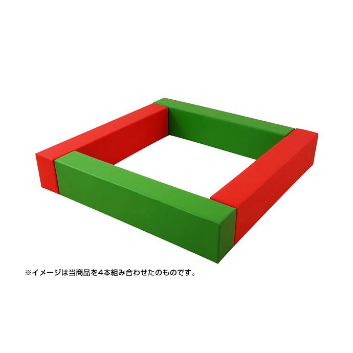 【日本製・キッズスペース】キッズコーナー クッション積み木枠 KW-2(1本) 【ワークス】