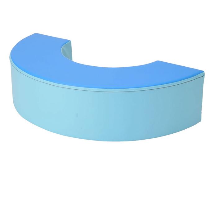 キッズコーナー マンモスブロック(単品) アーチ BM-3/日本製 室内 遊具 大型 ブロック 【ワークス】