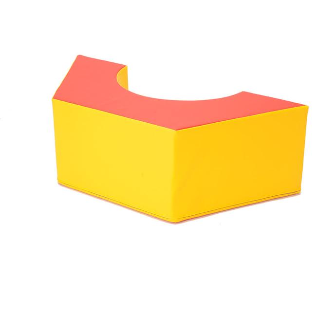 キッズコーナー ソフトクッション(単品) ナットハーフ SK-1 / 日本製 室内 遊具 大型 クッション  【ワークス】