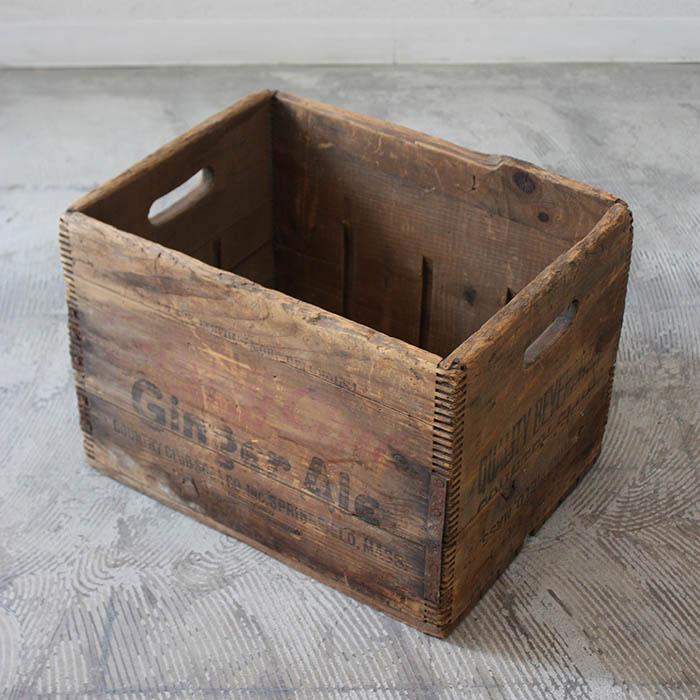 WOOD BOX【海外直輸入中古品】【中古】木箱 箱 収納 はこ ウッドボックス アンティーク ヴィンテージ 木製 家具 インテリア antique industrial vintage furniture wood box