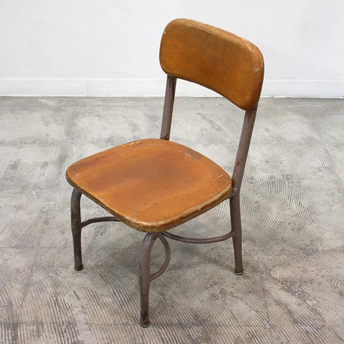 """CHILD SCHOOL CHAIR """"HEYWOOD WAKEFIELD""""【海外直輸入中古品】【中古】アンティーク チャイルドチェア スクールチェア イス antique school chair USA"""