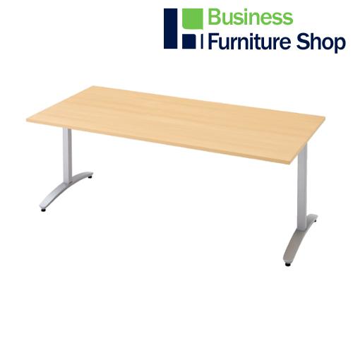 ロンナ 会議テーブル NN-1809TAR WM/M4(オフィス 事務所)