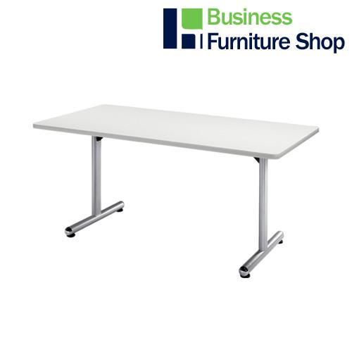 テーブル KS-1575 W ホワイト(オフィス 事務所)