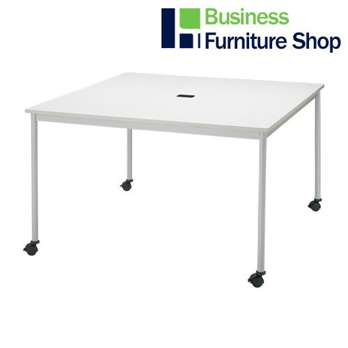 テーブル RM-1200C ホワイト(オフィス 事務所)