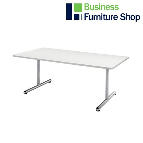 テーブル KS-1890 W ホワイト(オフィス 事務所)