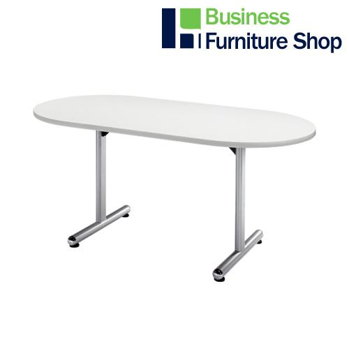 テーブル KS-D1575 W ホワイト(オフィス 事務所)
