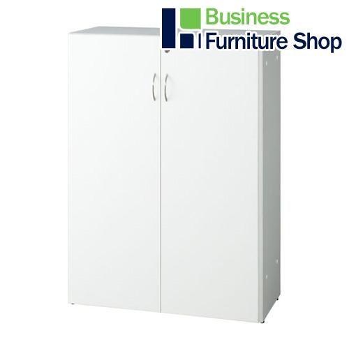 レーニョ2 木製棚 RFLS-WJHFD ホワイト(オフィス 事務所)