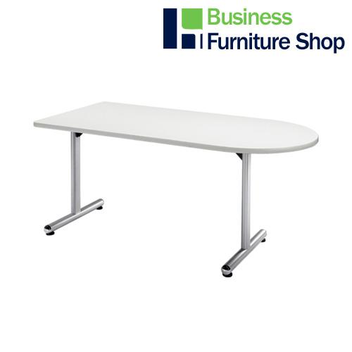 テーブル KS-U1575 W ホワイト(オフィス 事務所)