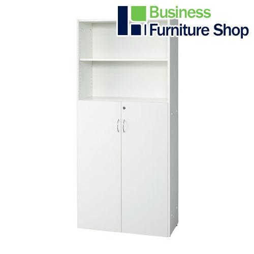 レーニョ2 木製棚 RFHS-WJHFD ホワイト(オフィス 事務所)