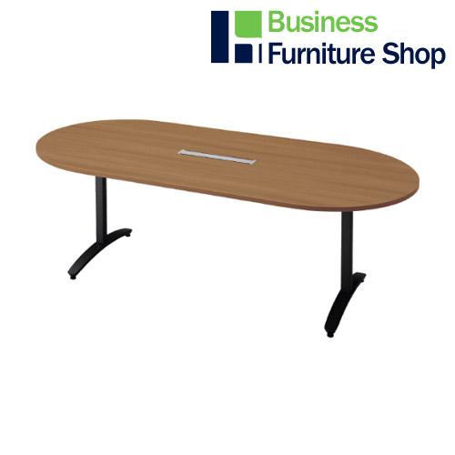 ロンナ 会議テーブル NN-2110TAOH T2/BK(オフィス 事務所)