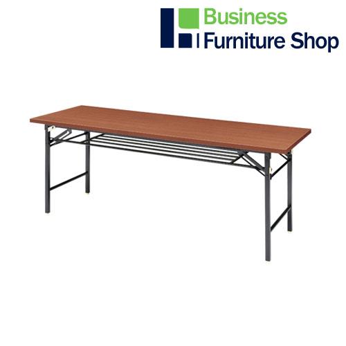 脚折りたたみテーブル SA-MS1860WN(オフィス 事務所)