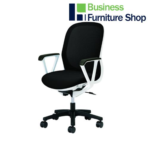 事務イス Fita KB-FT50ML-SBK パソコンチェア デスクチェア 椅子 (オフィス 事務所)