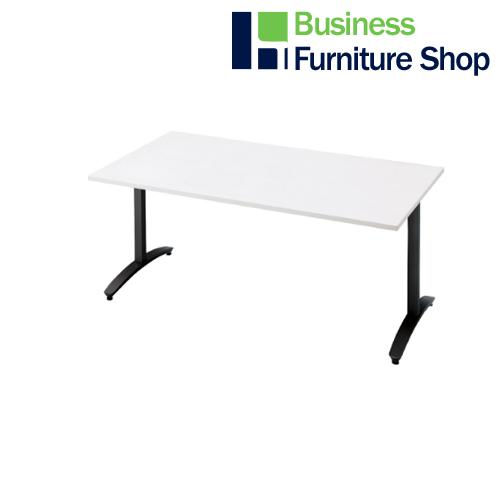 ロンナ 会議テーブル NN-1509TAR W4/BK(オフィス 事務所)