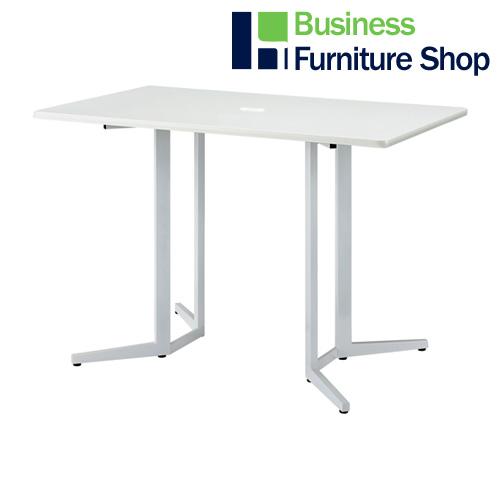 ハイテーブル KHH-1590-WH ホワイト(オフィス 事務所)