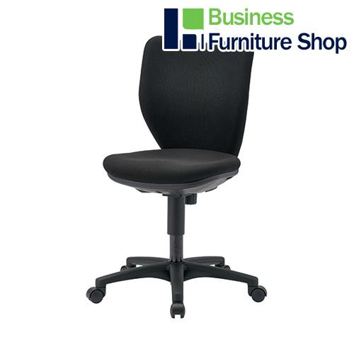 事務イス BIT-BX45-L0-F ブラック パソコンチェア デスクチェア 椅子 (オフィス 事務所)