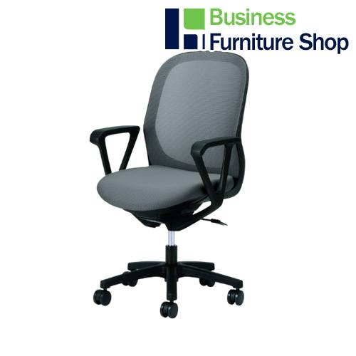 事務イス Fita KB-FT60ML-CGY パソコンチェア デスクチェア 椅子 (オフィス 事務所)