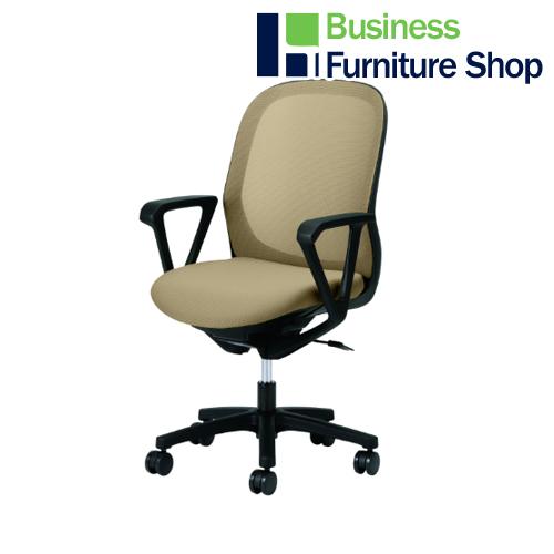 事務イス Fita KB-FT60ML-SBE パソコンチェア デスクチェア 椅子 (オフィス 事務所)