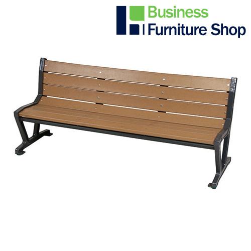 【オープニング 大放出セール】 Furniture 事務所):Business ZW-1(オフィス 樹脂ベンチ Shop-エクステリア・ガーデンファニチャー
