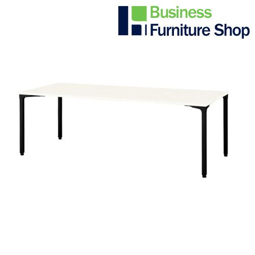 ロンナ 会議テーブル NN-2110PAR W4/BK(オフィス 事務所)