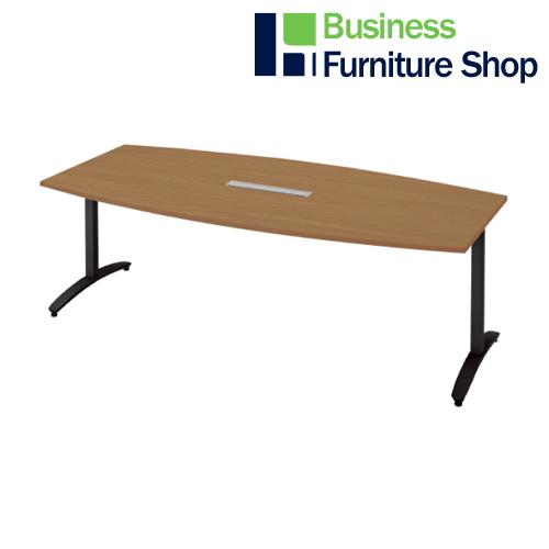 ロンナ 会議テーブル NN-2110TABH T2/BK(オフィス 事務所)