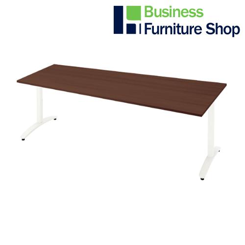 ロンナ 会議テーブル NN-2110TAD LM/W4(オフィス 事務所)