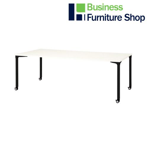 ロンナ 会議テーブル NN-2110PKR W4/BK