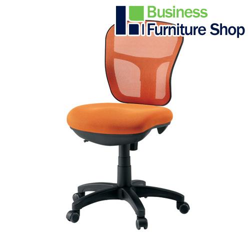 安全 FRENZ 家具配送便 組立設置込 在宅勤務 自宅勤務 入荷予定 テレワーク 事務イス CF-2M OR オレンジ パソコンチェア デスクチェア オフィス 事務所 椅子