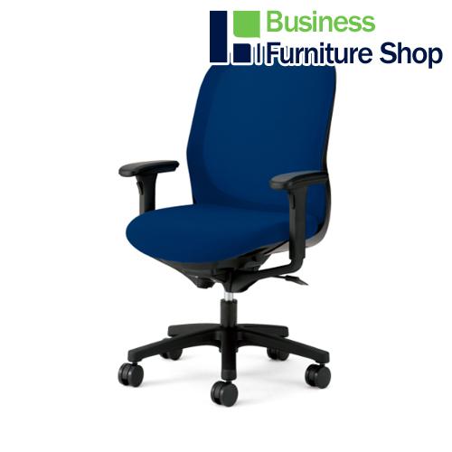 事務イス Fita KD-FT60ML-NBL パソコンチェア デスクチェア 椅子 (オフィス 事務所)