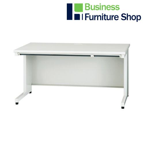 家具配送便 在庫一掃 組立込 平机 JS-147H WH 当店一番人気 事務所 ホワイト オフィス