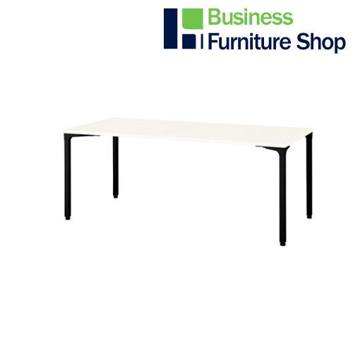 ロンナ 会議テーブル NN-1809PAR W4/BK(オフィス 事務所)