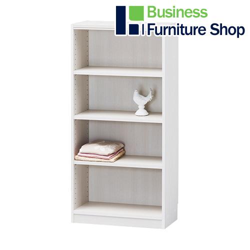 ★木製棚タナリオ TNL-1259 ホワイト(オフィス 事務所)