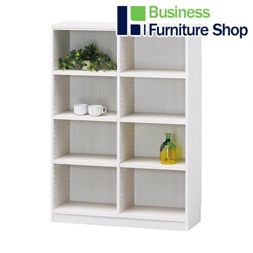 白井産業 最安値に挑戦 家具配送便 組立設置込 木製棚タナリオ メーカー在庫限り品 ホワイト オフィス 事務所 TNL-1287