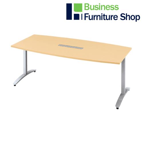 ロンナ 会議テーブル NN-1809TABH WM/M4(オフィス 事務所)