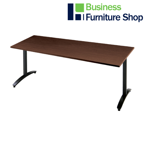 ロンナ 会議テーブル NN-1809TAD LM/BK(オフィス 事務所)