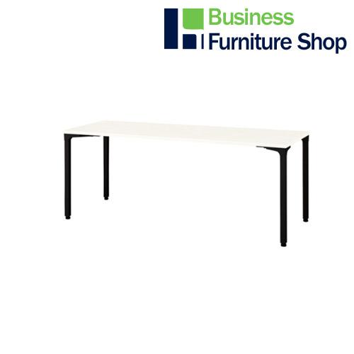 ロンナ 会議テーブル NN-1807PAR W4/BK(オフィス 事務所)