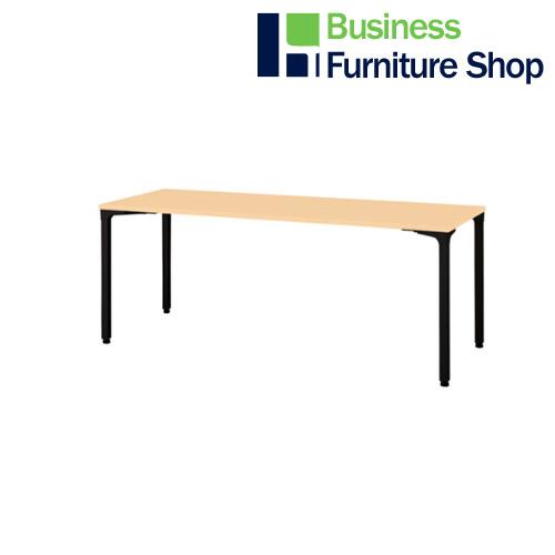ロンナ 会議テーブル NN-1807PAR WM/BK(オフィス 事務所)