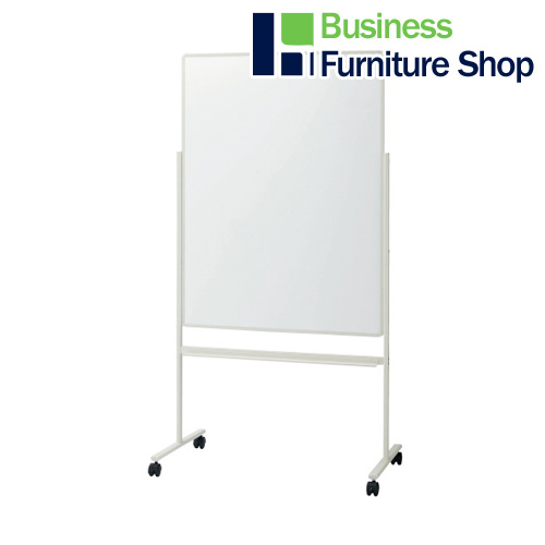 家具配送便 組立設置込 脚付片面ホワイトボード VS2-43SSJ 会議 推奨 オフィス セットアップ 事務所 プレゼン